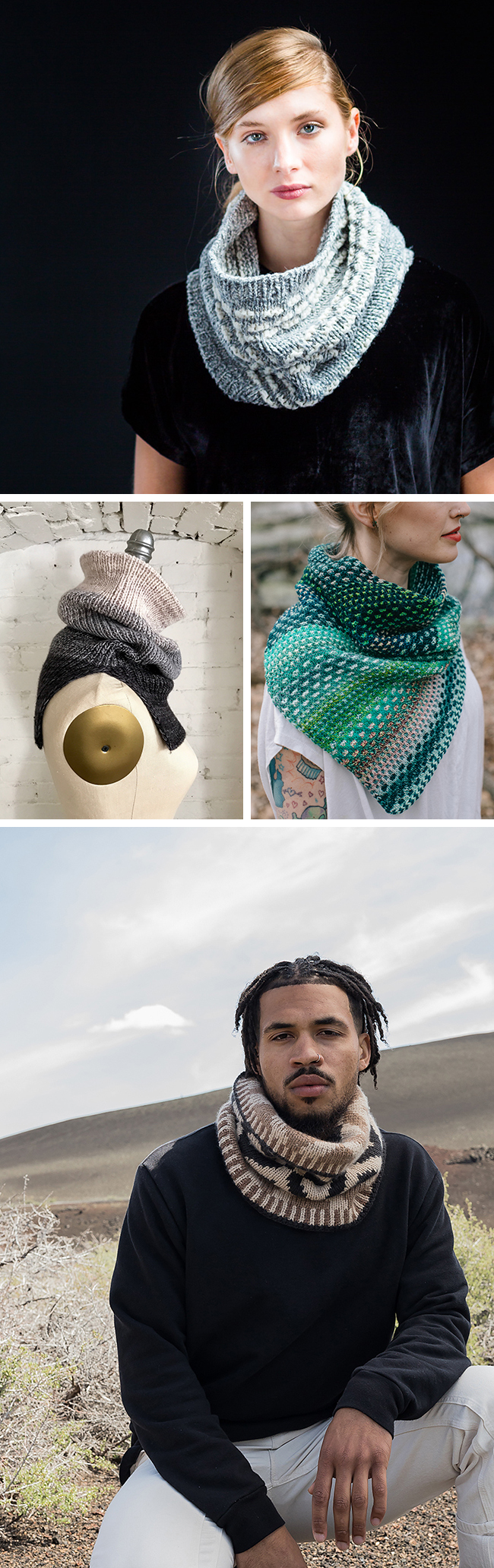Quick Knits: Cowls (holiday knitting pattern suggestions)