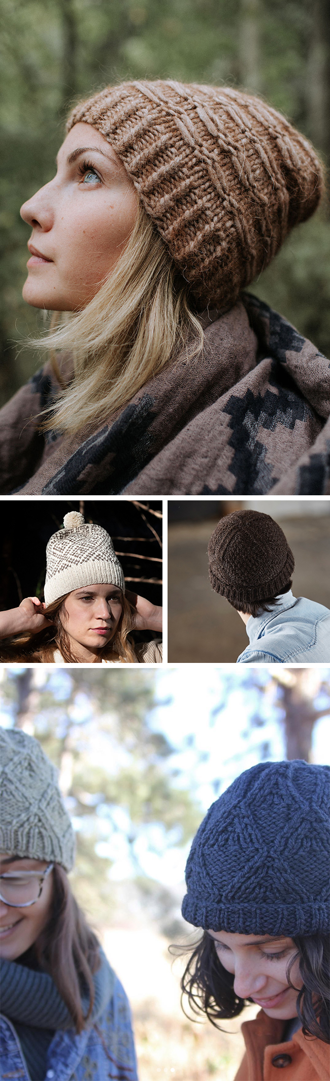 Quick Knits: Hats patterns for gift knitting