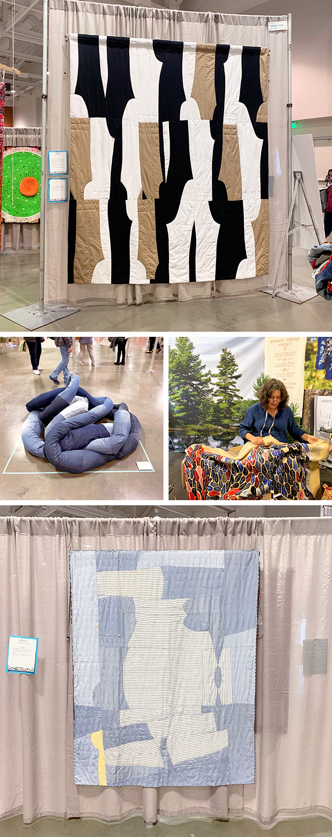 Craftlands: QuiltCon - featured quilter Sherri Lynn Wood