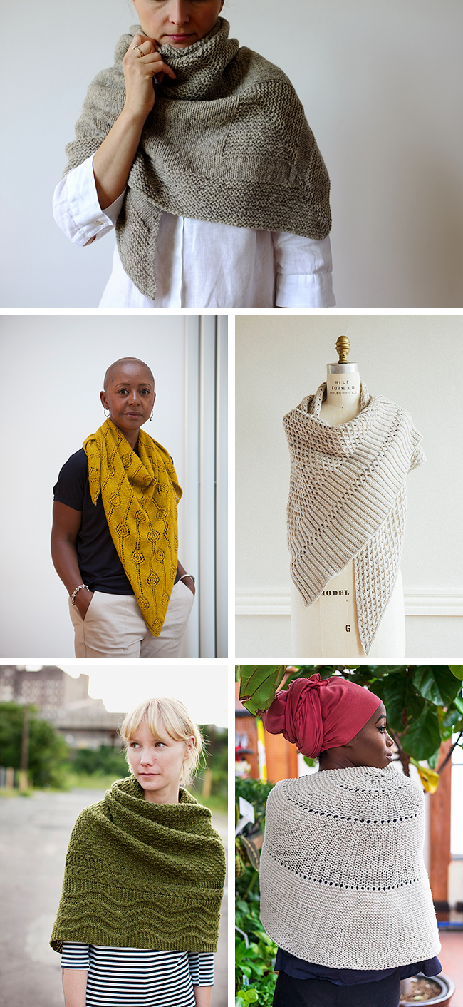 New Favorites: The blankety shawl (knitting patterns)
