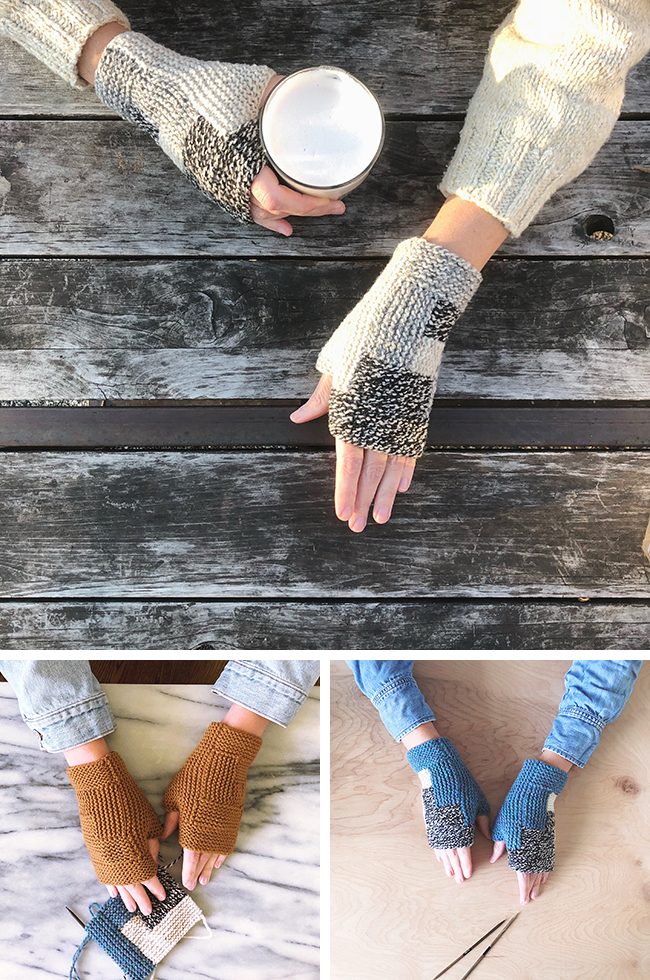 Elsewhere + Holiday weekend knitting project idea