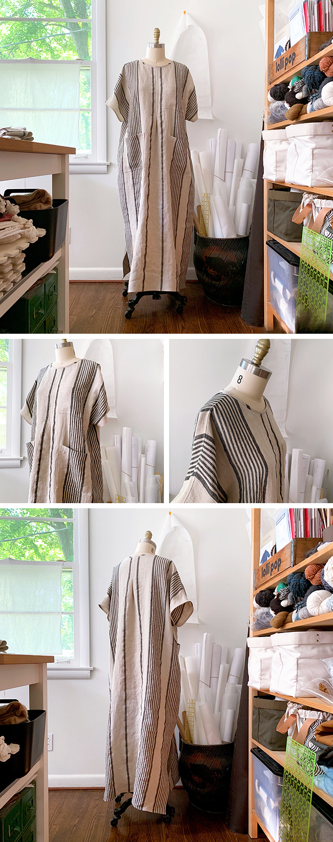 How to sew a Fen caftan