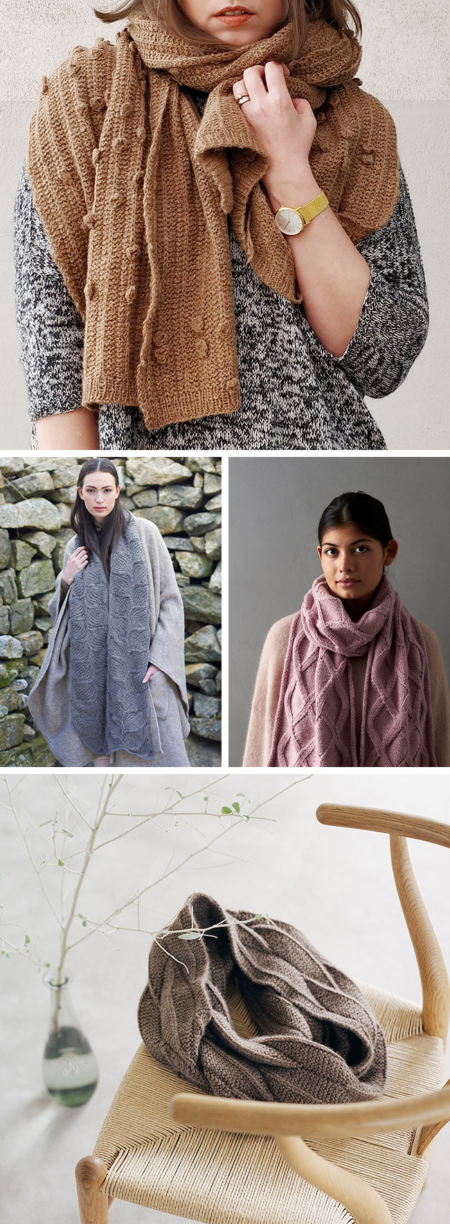 Best knitting patterns of the year (scarves)