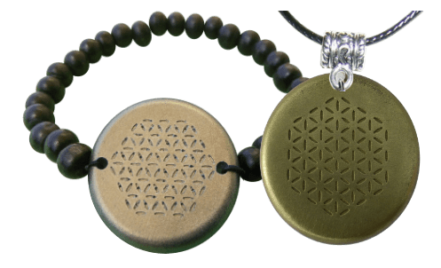 Set-Bronze-Bracelet-and-Pendant-Orgonite