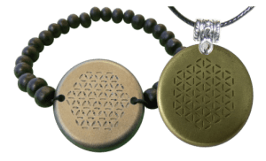 Set-Bronze-Bracelet-and-Pendant-Orgonite