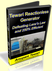 Tewari Reactionless Generator