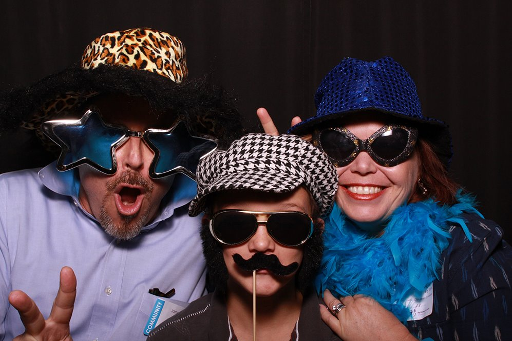 James, our Little Bro Brad, and I at an annual Big Brothers Big Sisters celebration