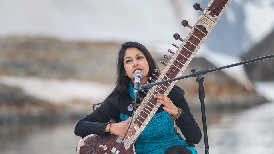 Shama Rahman interview: sound, sitar music and Antarctica