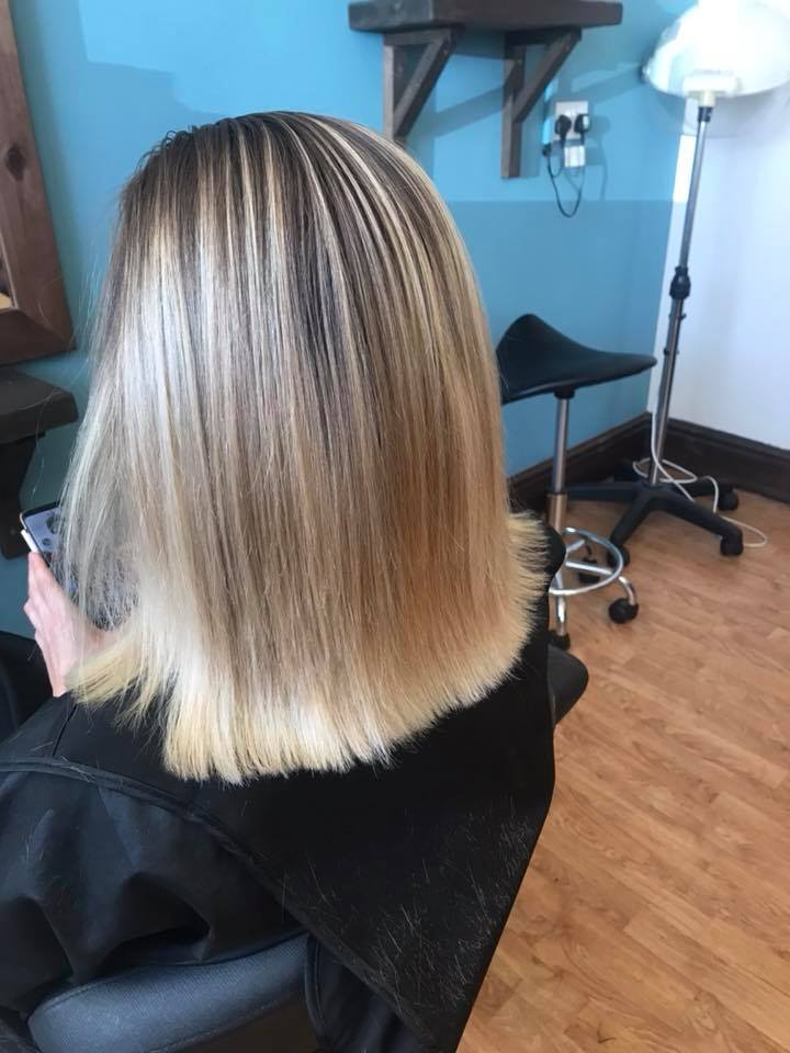 Balayage Hair Colour by Fringe Hair Salon Newquay