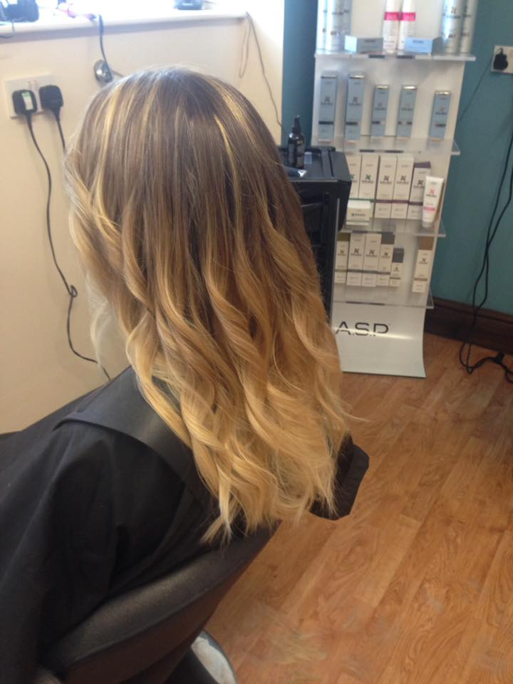 Balayage Hair Cut & Colour by Fringe Hair Salon Newquay