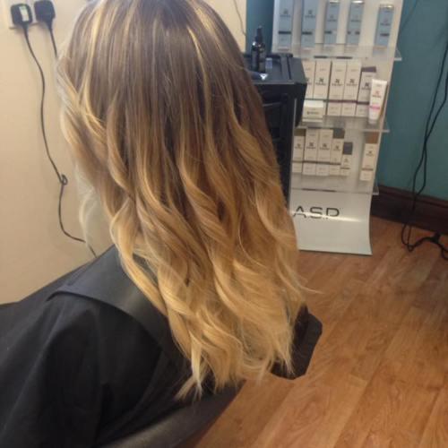 Balayage Hair Cut & Colour by Fringe Hair Salon Newquay