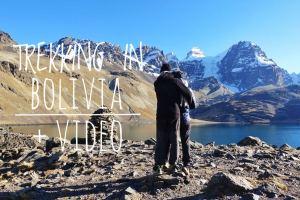 trekking in bolivia con video