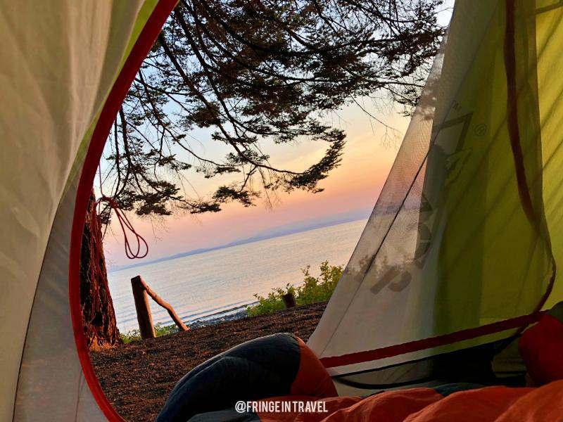 Alba Canada in tenda outdoor1