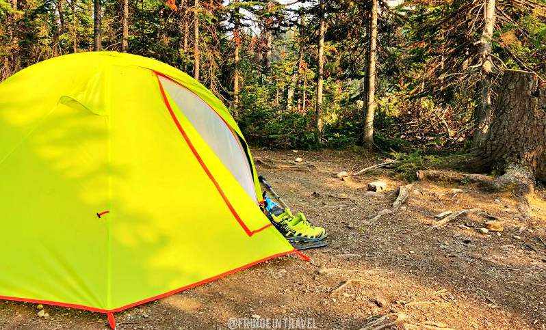 Canada in tenda outdoor1
