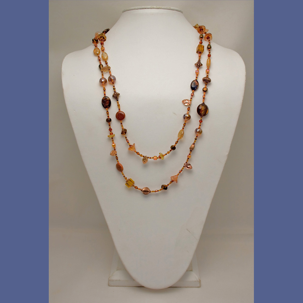Copper Roads Necklace