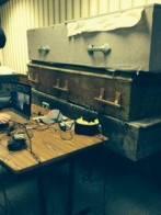 Fringe HQ with some old caskets