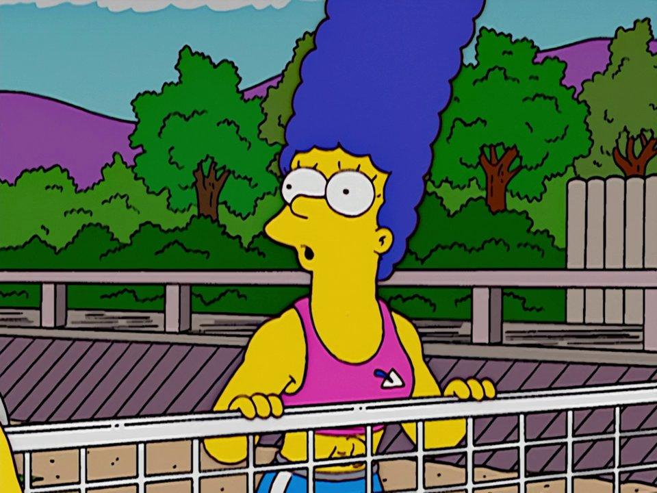 Frinkiac S14e09 Woman Marge Simpson