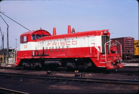SW9 312 at St. Louis, Missouri in August 1980 (Gordon Lloyd, Jr.)