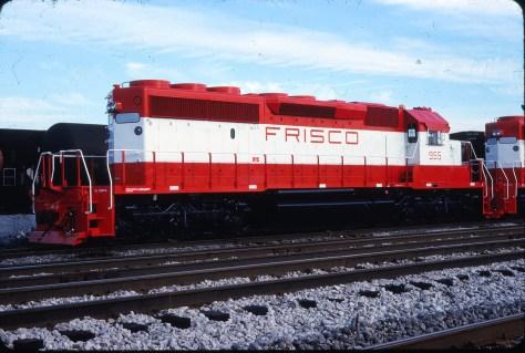 SD40-2 955 at East Hazel Crest, Illinois on July 16, 1978