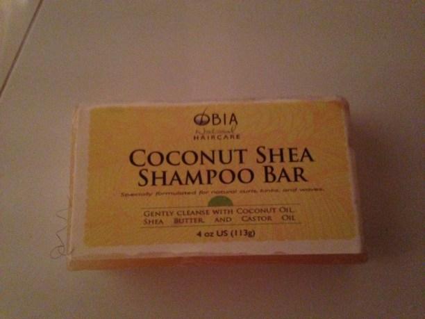 Savon Coconut & Shea Shampoo Bar