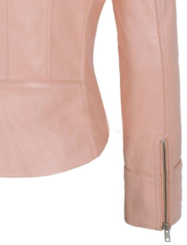 Female Real Leather Jacket