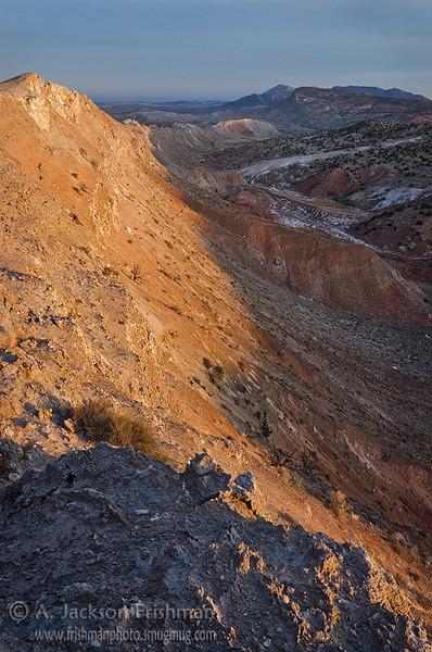 Sunrise on White Mesa, Sandoval County, New Mexico