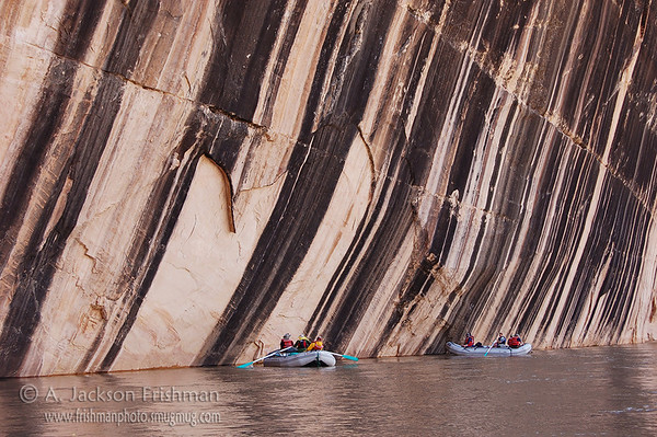 Tiger Wall on Colorado's Yampa River