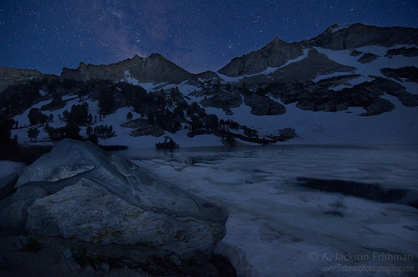 Starlight on Lamoille Lake, Ruby Mountains, Nevada