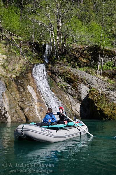 Rafting in paradise, Illinois River, Oregon