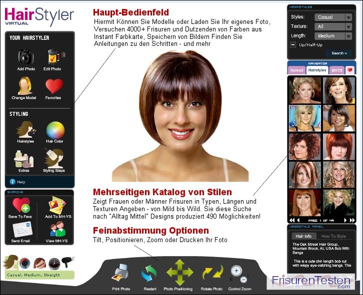 Frisur Testen Online