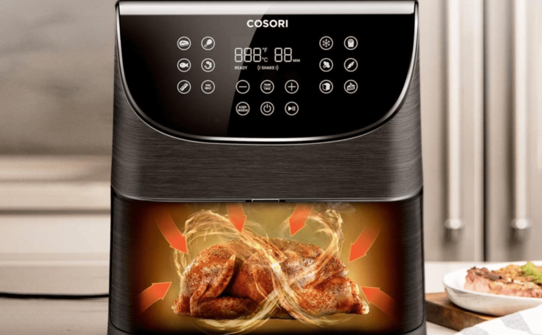 Grătar cu Frigărui pentru Friteuza cu Aer Cald Air Fryer PRO | Delimano
