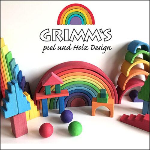 Grimms billede med ramme