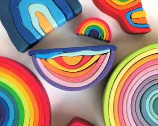 Kategoribillede til regnbuer