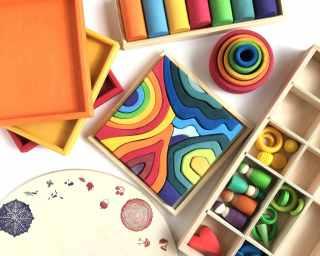 Kategoribillede til træbakker, plader og skåle