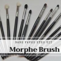 BABE FAVES -EYE BRUSH SET DE MORPHE BRUSH