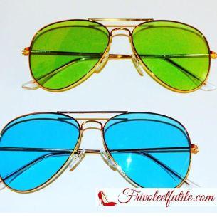lunettes de soleil frivole et futile sunglasses