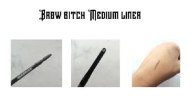 Brow bitch medium liner martine cosmetic