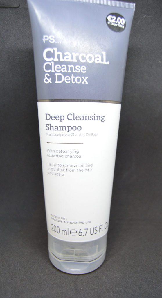 Charcoal Cleanse detox primark shampoo tube