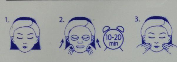 sheet mask utilisation blog frivole et futile