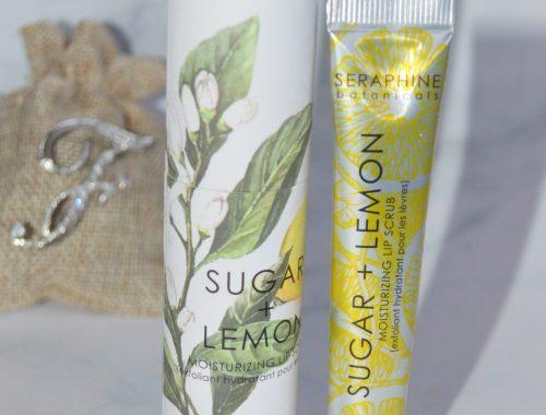 lip scrub sugar lemon seraphine bonaticals