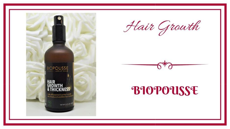 BLOG frivole et Futile Hair growth biopousse