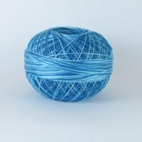 Lizbeth 40 Coloris 142 Turquoise Twist - fil frivolité