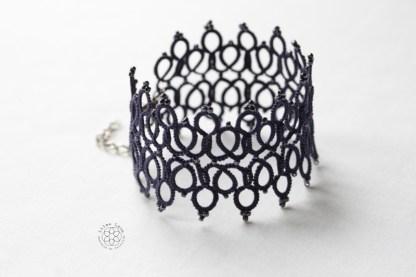 modèles bijoux en frivolité