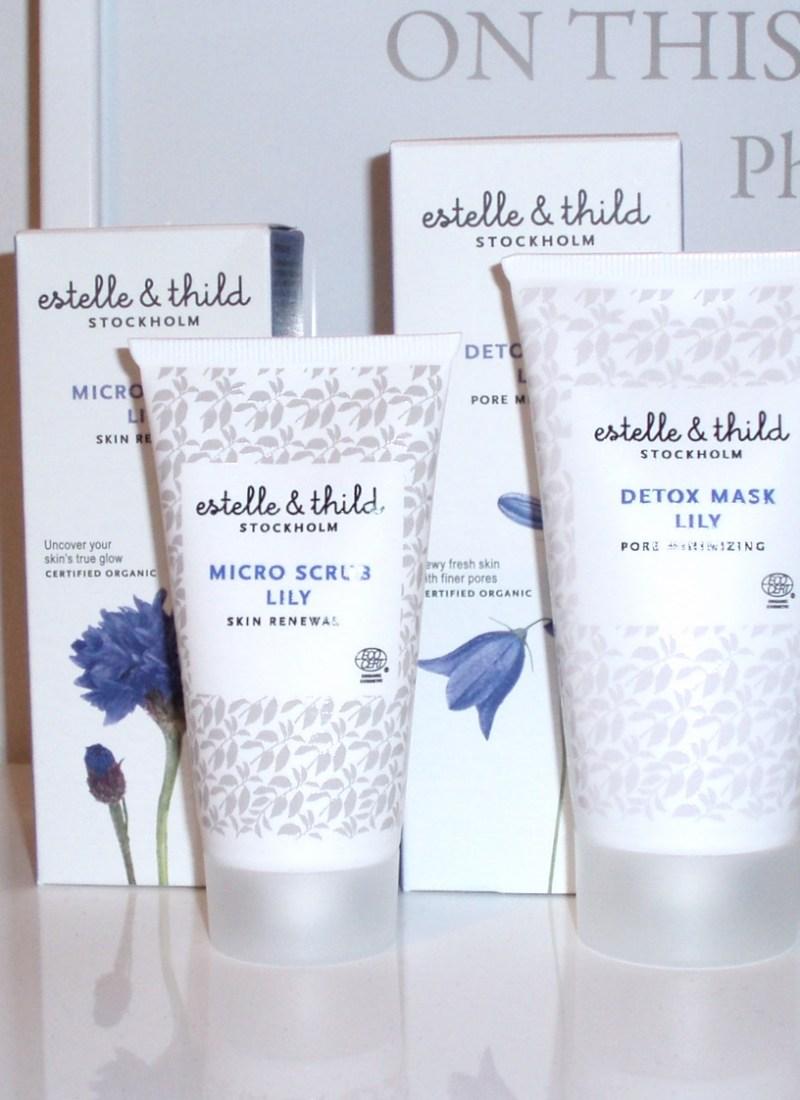 Estelle & Thild Micro Scrub Lily & Detox Mask Lily
