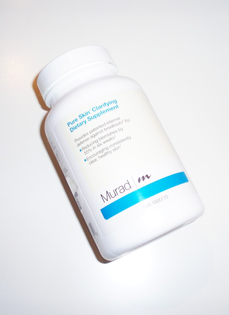 Murad Pure Skin Clarifying Dietary Supplement Review