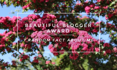 Beautiful Blogger Award Tag<br> 7 facts about me