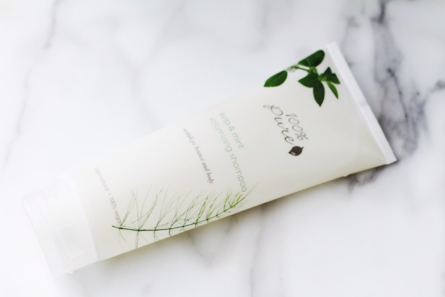 100% Pure Kelp & Mint Shampoo review