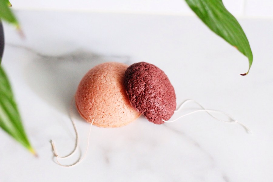 Care for your Konjac Sponge Red clay Pink Clay