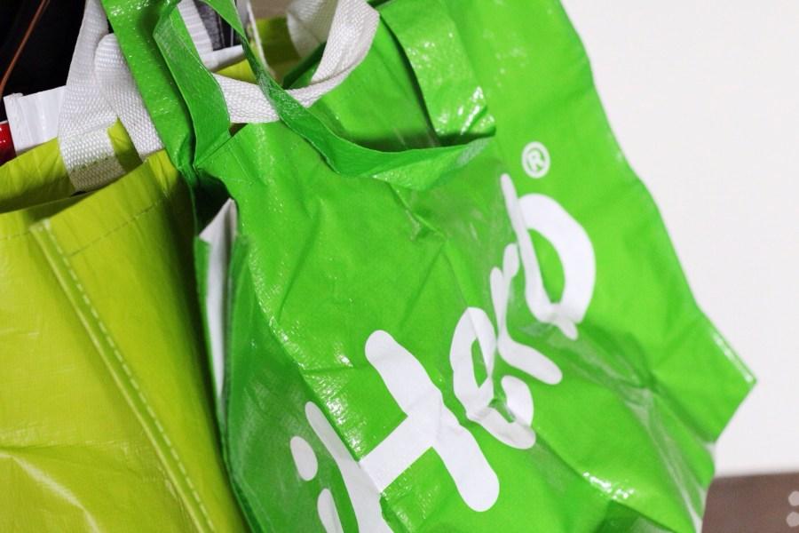 iHerb Goods Grocery Tote Bag