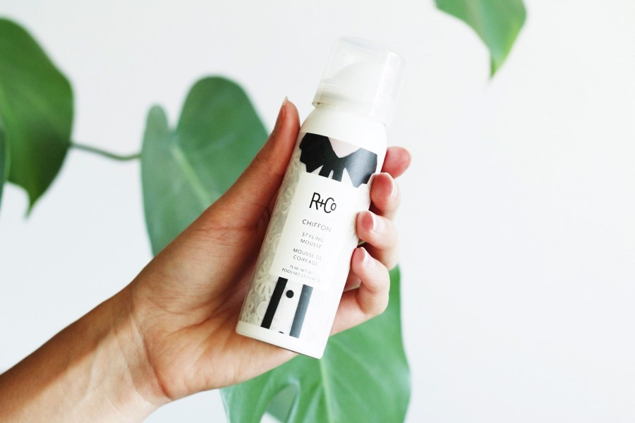 R+Co Chiffon Styling Mousse Review